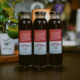 Original Black Coffee  3 Bottles
