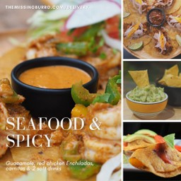 Spicy & Seafood for 2-3 pax