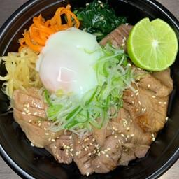 Raw tongue rice bowl(生タン丼)