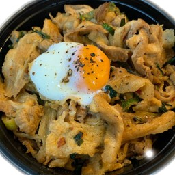 Pork belly rice bowl(豚バラ丼)
