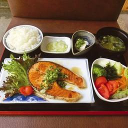Salmon Teriyaki Set