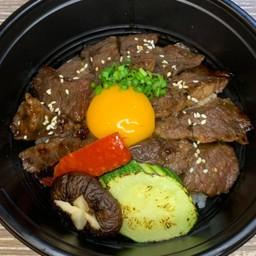 Beef harami rice bowl(ハラミ丼)