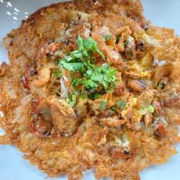 ผัดไทยหอยทอดหน้าปากซอยประชาอุทิศ17