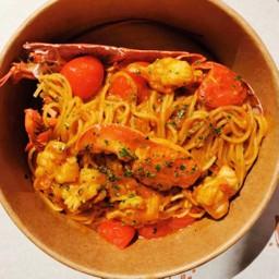 Spaghetti Lobster (Whole lobster)