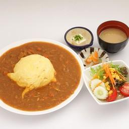 เซ็ตข้าวห่อไข่แกงกระหรี่ญี่ปุ่น