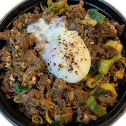 Beef tendon rice bowl(牛すじ丼)