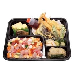 Bara Sushi Tenpura Bento