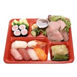 Jyo-Nigiri Roast Beef Bento
