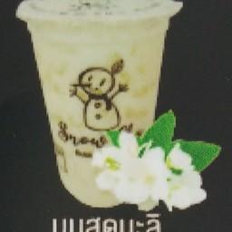 ชานมไข่มุก หน้าโลตัสวัดพล ร้านสโนว์ชา หน้าโลตัสวัดพล