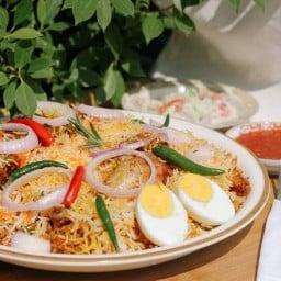 สุลตาน่า ฮาลาล (sultana halal) ข้าวหมกสามสี ข้าวซอย Biryani บางกอกน้อย