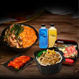 ลดพิเศษ - ชุดคู่ : Ready to Eat Standard + EASYMEAL + อาหารทานเล่น 1 + เครื่องดื่ม 2