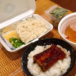UNADON Set meal (Udon) ชุดข้าวหน้าปลาไหล(อุด้ง)