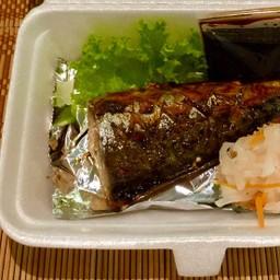 Saba Teriyaki ปลาซาบะย่าง ซอสเทริยากิ