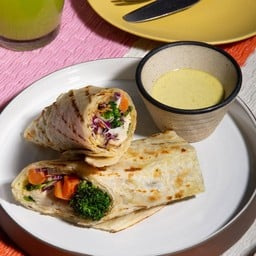 Green Curry Wrap
