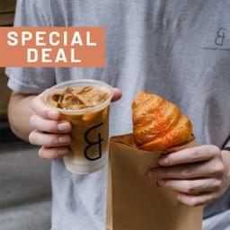 (จับคู่ลดทันที 10 บาท)  Coffee + Bakery