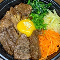 Mix Beef rice bowl(欲張り丼)