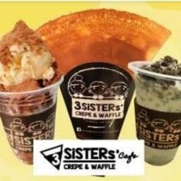 เครป 3 Sisters' Cafe crepe&waffle Platform วงเวียนใหญ่ ชั้น3 เยื้องร้าน บาบีคิวพลาซ่า