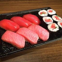 HONMAGURO 3KIND (sushi maguro,ootoro,tekkamaki)