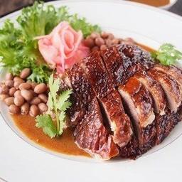 เป็ดย่างฮ่องกงหมูกรอบหมูแดงเกี๊ยวกุ้งเผาข้าวต้ม อาหารตามสั่ง byร้านนาเบล กำแพงเพชร