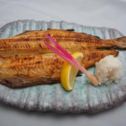 ปลาชิมาฮอกเกะแห้งย่าง
