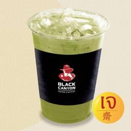 ชาเขียวมัทชะลาเต้เย็นเจ