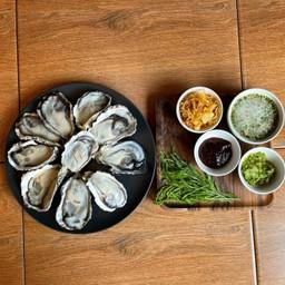 หอยนางรมสดเกาหลี