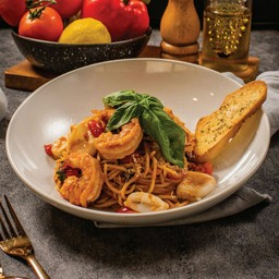 Spaghetti Mixed Seafood