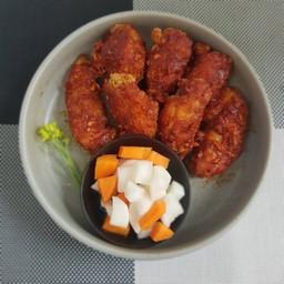 กิมจิ ไก่ทอดเกาหลี
