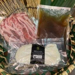 Frozen Beef udon noodle set