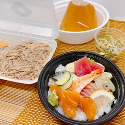 MINI-CHIRASHI Set mea (Soba) ชุดชิราชิ(โซบะ)