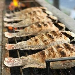 เมี่ยงปลาเผา รัษฎา