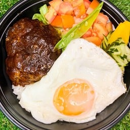 Wagyu loco moco rice bowl(和牛ロコモコ丼)