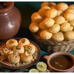 Pani puri house Halal อาหารอินเดียฮาลาล ราชปรารภ