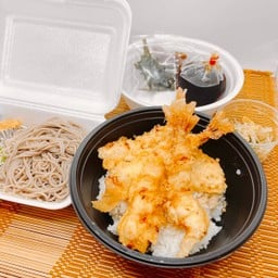 TENDON Set meal (Soba) ชุดข้าวหน้าเทมปุระ(โซบะ)
