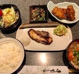 Hata saikyoyaki gozen