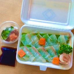 Usuzukuri เนื้อปลากระพงแร่บาง
