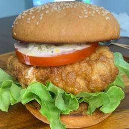 Chicken Nanban Tartar Lemon Burger(チキン南蛮タルタルレモンバーガー)