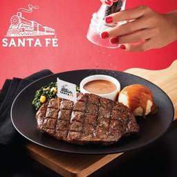 Santa Fe' Steak เซ็นทรัลพลาซา เชียงใหม่ แอร์พอร์ต ชั้น 4