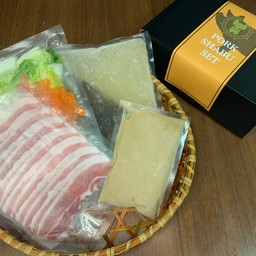 Pork shubu set (for one person) 豚しゃぶセット(1人前)