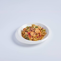 สปาเก็ตตี้ชี้เมา Spaghettie Khimao Talay