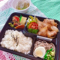 BUTABARA SHOGAYAKI Set meal มูสามชั้นผัดขิง