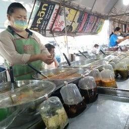 อาหารสำเร็จ ลุงกับป้าอ้วน ตลาดหน้าโรงอวน ถนนเหล่านาดี