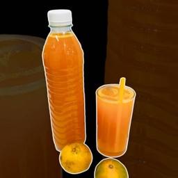น้ำส้มคั้นสด ขวดละ