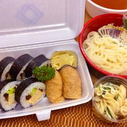 SUSHI Set mealA (Udon) ชุดซูชิA(อุด้ง)