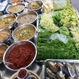 ร้านโจ้กุ้งน้ำพริกผักลวก(กิมหยง)