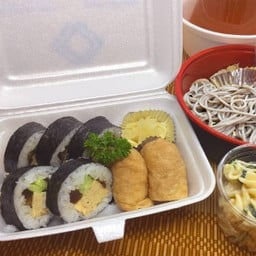 SUSHI Set mealA (Soba) ชุดซูชิA(โซบะ)