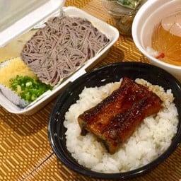 UNADON Set meal (Soba) ชุดข้าวหน้าปลาไหล(โซบะ)