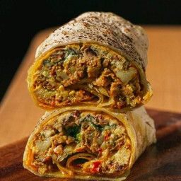 Messy omelette wrap Delivery