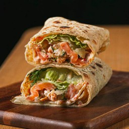 Smoked salmon wrap Delivery