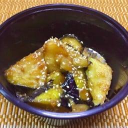 Nasu-Misoitame มะเขือม่วงผัดมิโซะ